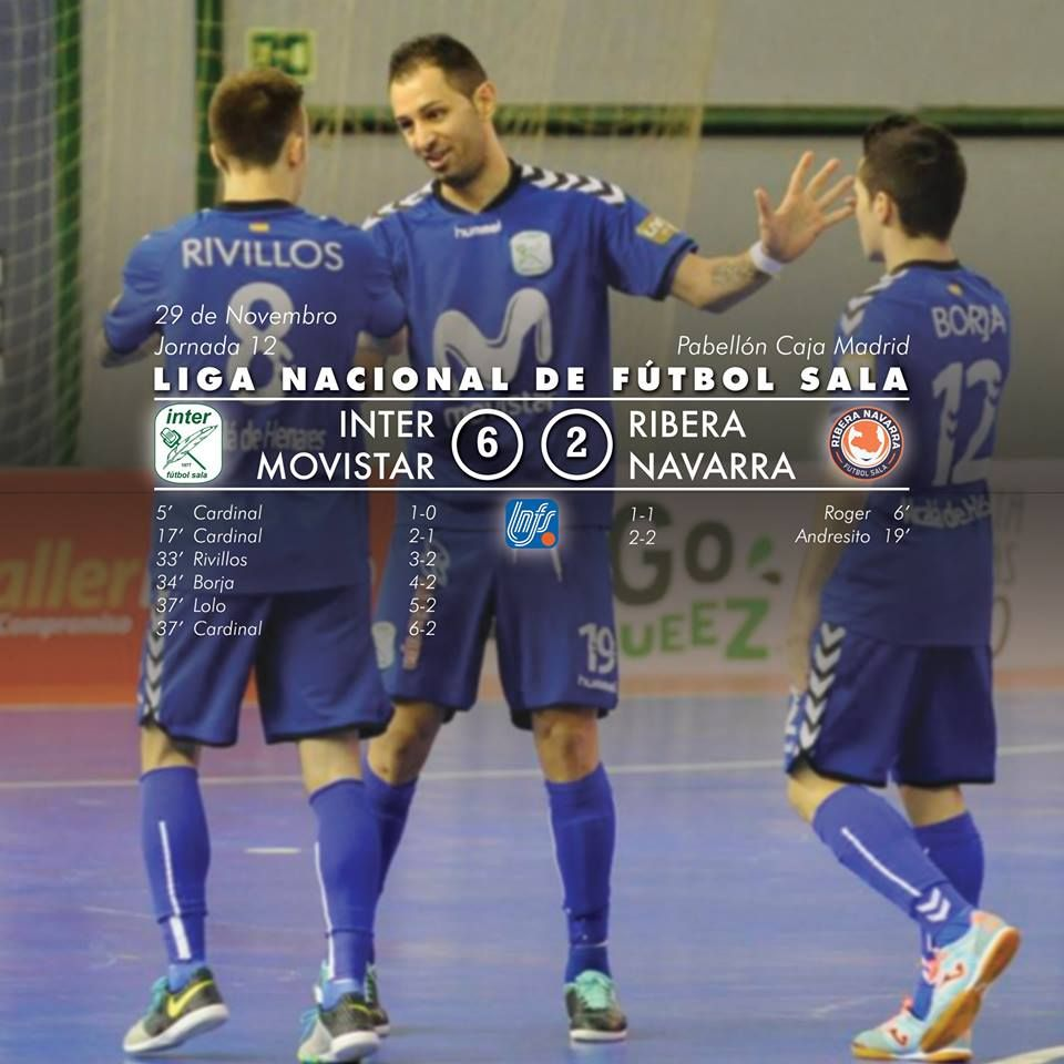 Inter Movistar vs Ribera Navarra