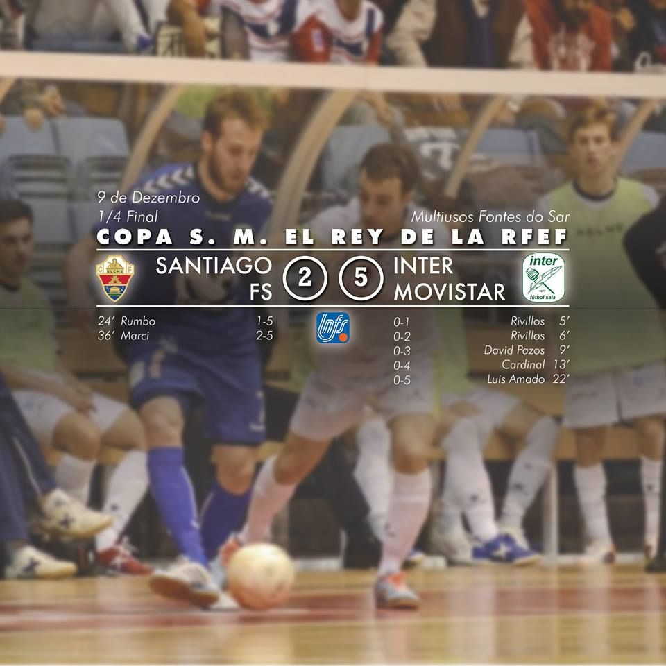 Santiago Futsal vs Inter Movistar